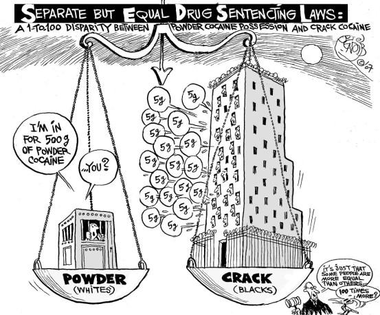 No More Crack Powder Disparities