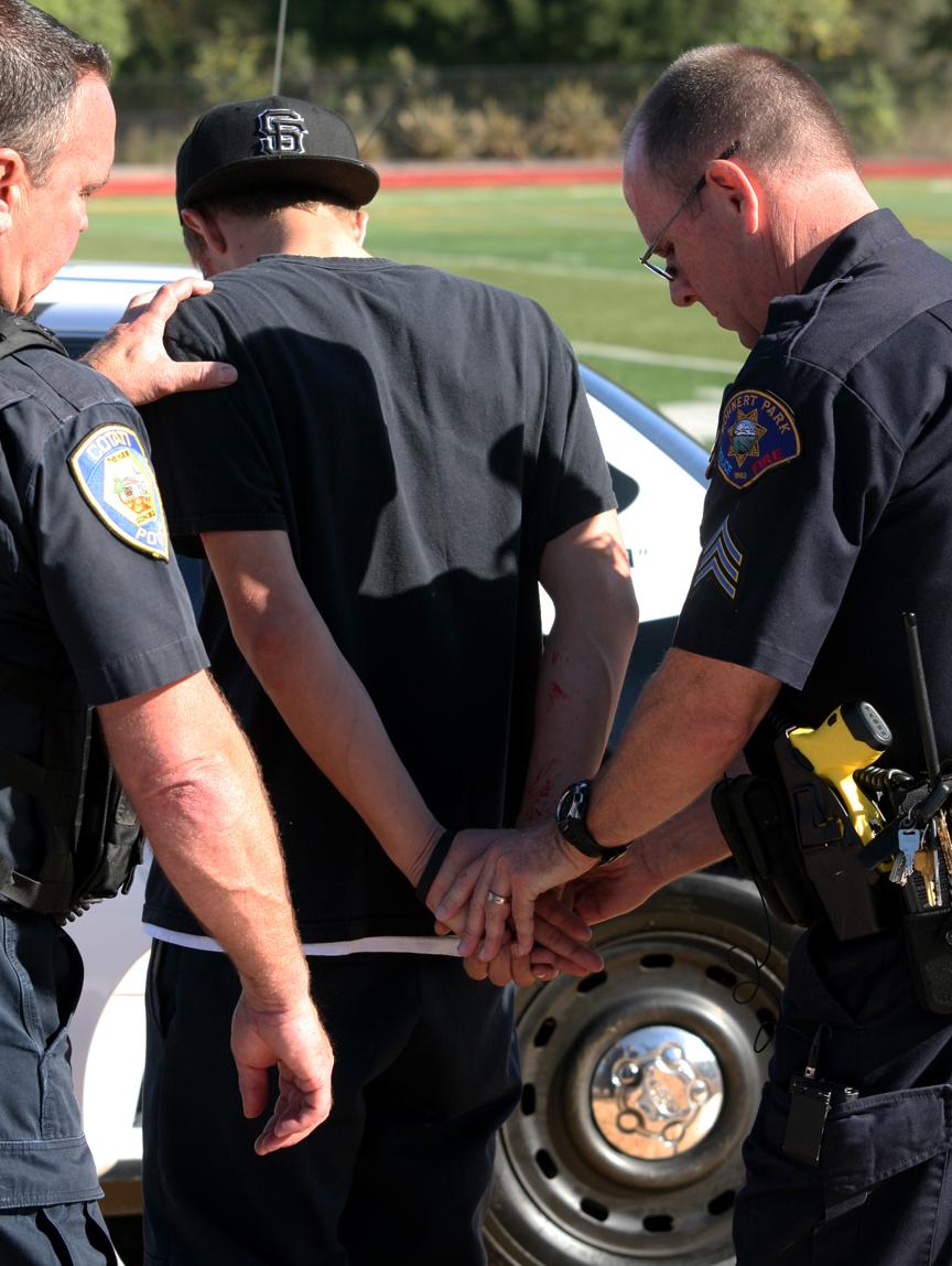 Black Male arrested
