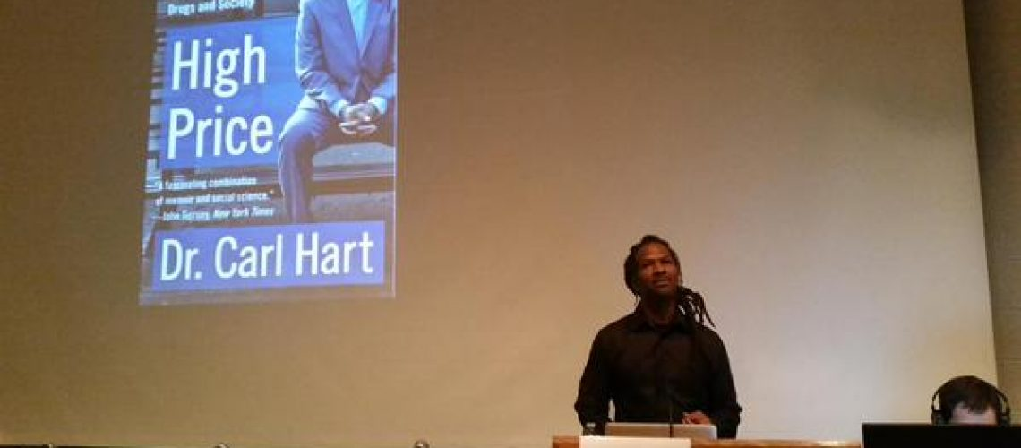 Graham de Barra ‏@GramsdB Feb 28  Dr. Carl Hart speaking at the @CSSDP conference on changing the world #RisingRevolution