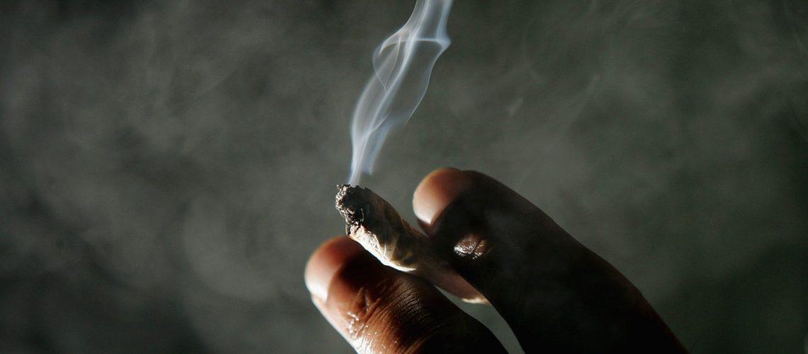 smoked weed